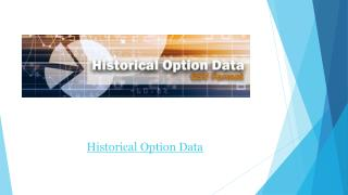 Historical Option Data