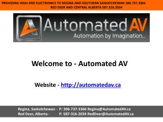 Custom audio video   automated av