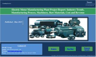 Electric Motor Market | Prices, Manufacturing Plant Report