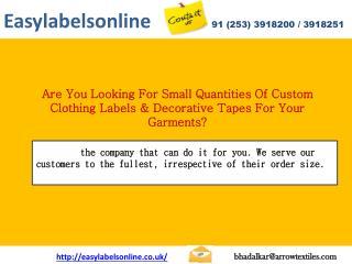 Easy Label Online