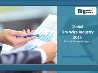 Global Tire Wire Industry 2015 Market Analysis, Growth