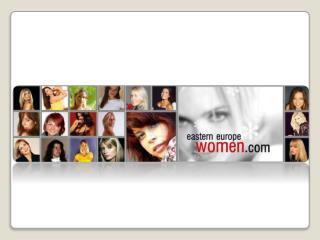 Women From Eastern Europe