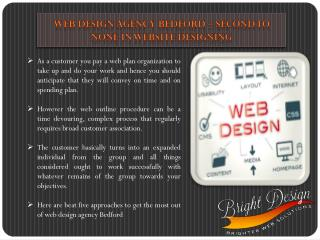 Web Design Agency Bedford – Second to None in Website Designing