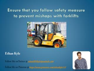 Drivers ought to know this before dealing with forklift trucks