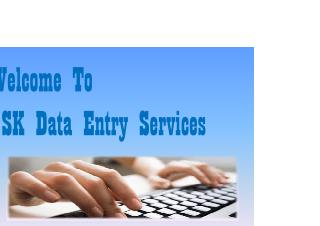 Data Entry Company India