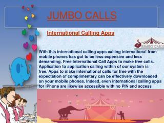 Cheap International Calling Service