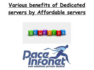 Dedicated Web Hosting Advantages