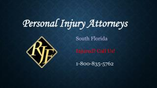 Personal Injury Attorney South Florida