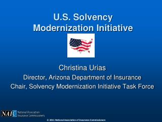 U.S. Solvency Modernization Initiative