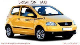 Brighton Minicab & Taxi Services
