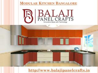 Modular Kitchens Manufacturers & Dealers in Bangalore