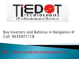 Buy UPS Distributor/Dealers in Bangalore Call @09535971118