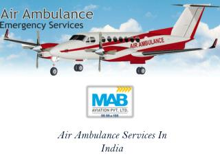 Air Aumbulance Services In India
