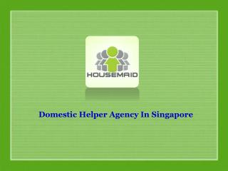 Domestic Helper Agency