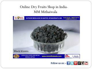 Online Dry Fruits Shop in India - MM Mithaiwala