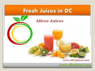 DC Fresh Juices