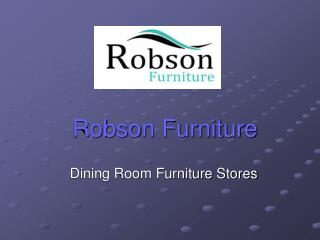 Dining Room Furniture Stores Online