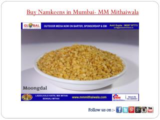 Buy Namkeens in Mumbai - MM Mithaiwala