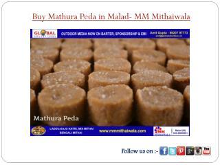 Buy Mathura Peda in Malad - MM Mithaiwala