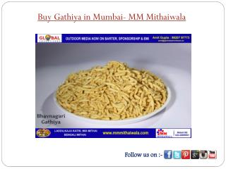 Buy Gathiya in Mumbai - MM Mithaiwala
