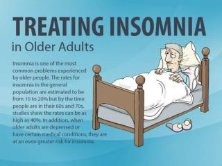Treating Insomnia in Older Adults