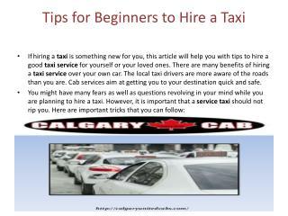 Calgary Cabs