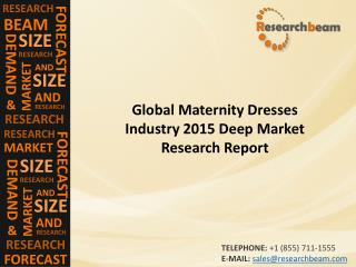 Analysis Of Maternity Dresses Industry