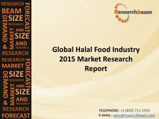 Global Halal Food Market  2015