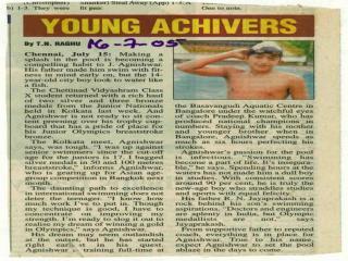 Agnishwar Jayaprakash - Young Achiever