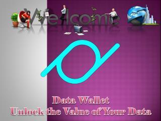 Got Data Money or Get Paid With Online Data Platform � Data Wallet
