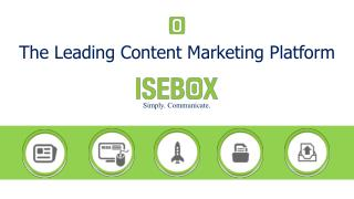 The Leading Content Marketing Platform