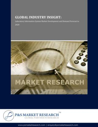 Global Latoratory Information System (LIS) Market 2014 to 2020