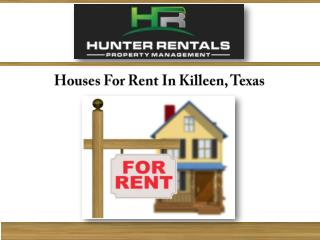 Houses For Rent In Killeen, Texas