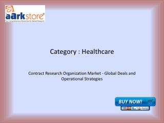 Contract Research Organization Market - Global Deals and Operational Strategies