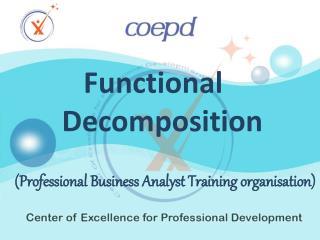 Functional Development