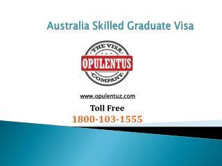 Australia Skilled Graduate Visa