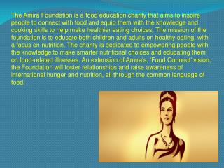 The Amira Foundation - Karan A Chanana