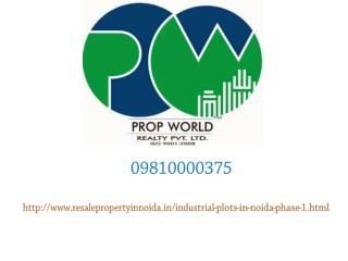 Industrial Plots For Sale In Noida