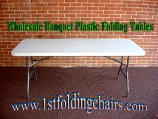Wholesale Banquet Plastic Folding Tables - 1stfoldingchairs
