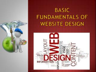 Basic fundamentals of Website Design