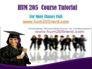 HUM 205 Course/HUM205nerddotcom