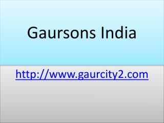 Gaur Atulyam Residential Apartments