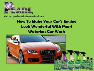 Pearl Wateless Car wash is best-selling Product in the world.