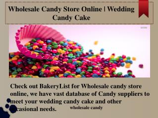 Wholesale Candy Store Online