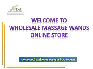 Gemstone Msaage Wands | Wholesale
