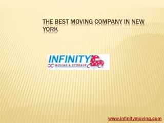 The Best Moving Company in Manhattan - Infinity Moving