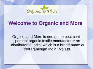 organic cotton manufacturer