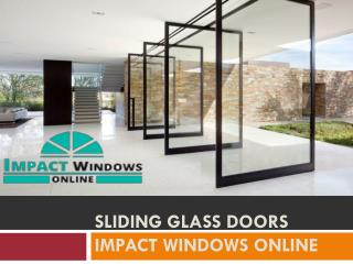 Sliding Glass Doors impact windows online