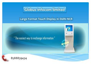 Large Format Touch Display in Delhi NCR