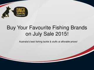 Dinga Fishing Tackle Store - July Sale 2015 | Best Buys Fishing Stuffs - Free Shipping